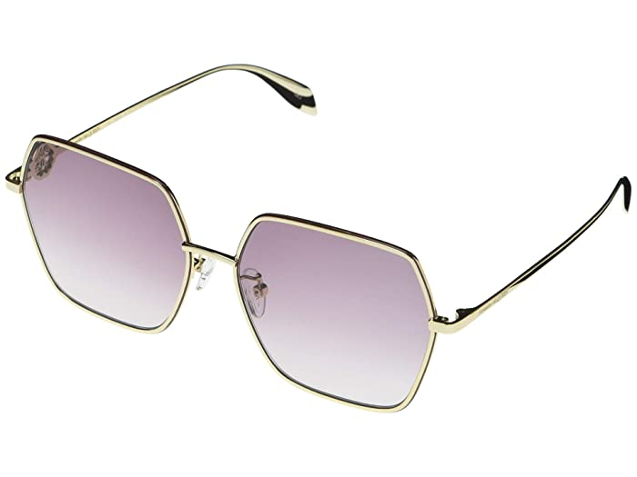 Alexander McQueen  AM0226SK (Gold 1) Fashion Sunglasses