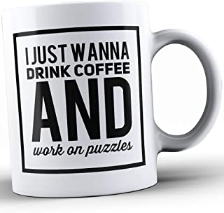 Jigsaw Puzzles Coffee Mug - Jigsaw Puzzles Coffee Cup - Funny Gift for Jigsaw Puzzles Lovers -