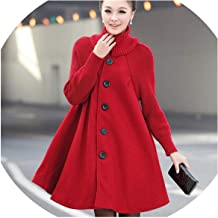 Jacket Overcoat Cloak Windbreaker Loose Winter Wool Coat Women Autumn Manteau Hiver Cape Warm Tweed