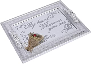 personalized silver tray
