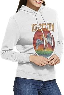 U.s. Tour 1975 Rock Led Zeppelin Women's Pullover Hoodie Casual Long Sleeves Sport Hooded Sweatshirt