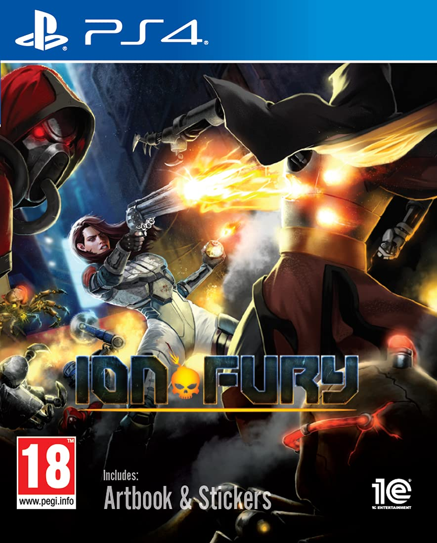 Ion Fury New sales PS4 Ranking TOP3
