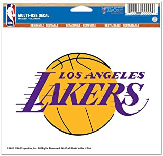 WinCraft NBA Los Angeles Lakers Multi-Use Colored Decal, 5