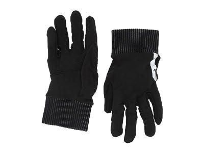 Nike Flash Sphere Running Gloves 2.0 (Black/Silver/Black) Gore-Tex Gloves