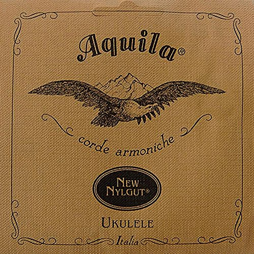 Aquila New Nylgut AQ-21 Baritone Ukulele Strings - Low D - 1 Set of 4