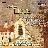Anton Liste-Piano Sonata-Cantata-Piano Duet Sonata