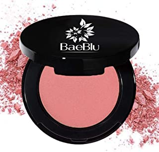BaeBlu Organic Blush 100% Natural Pressed Mineral Powder, Made in the USA, Petal
