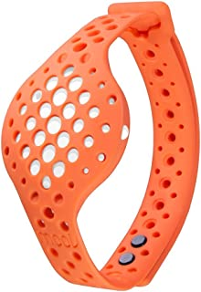 Moov Now - Special Edition - Blizzard White: Sunrise Orange - 3D Fitness Tracker & Real Time Audio Coach [NEW] - Run Walk Swim Cycle Workout Cardio Boxing