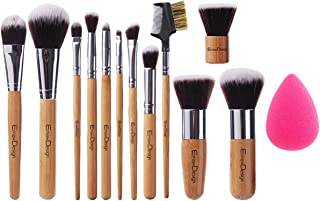 red handle makeup brushes