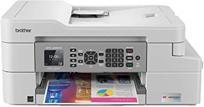 Brother MFC-J805DW INKvestmentTank Color Inkjet All-in-One Printer with Mobile Device and Duplex Printing with Up To 1-Yea...