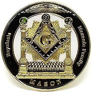 Pin for Jackets - Masonic Family Nayelesis Master Mason Lapel Pin - Accessories for Men and Women