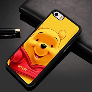 Winnie The Pooh Case Fit for Apple iPhone 5S (2013) and iPhone SE (2016) and iPhone 5 (2012) (5.5in)