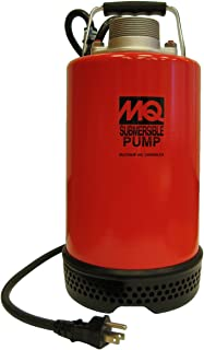 Multiquip ST2047 Electric Submersible Centrifugal Pump with Single Phase Motor, 1 HP, 87 GPM, 2
