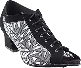 """Womens Ballroom Dance Shoes Party Salsa Practice Shoes 1643EB Comfortable -Very Fine 2"""" {Bundle of 5}"""