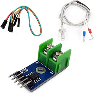 HiLetgo® DC 5V MAX6675 Module + K Type Thermocouple Temperature Sensor M6 for Arduino