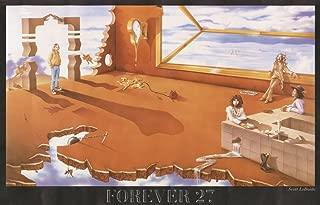 Studio B Forever 27 by Scott LoBaido Cool Wall Decor Art Print Poster Music Kurt Cobain Morrison Hendricks Janis Joplin Art Print Poster 36x24