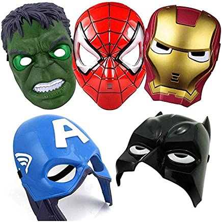 Superhero The Avengers Costume Mask, Avengers Costume Mask Iron Man Hulk Batman Party Cosplay Mask