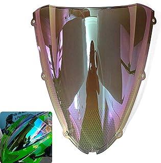 Trasparente Motocicletta Doppia Protezione Dello Schermo Del Parabrezza Shield Vento Per Parabrezza