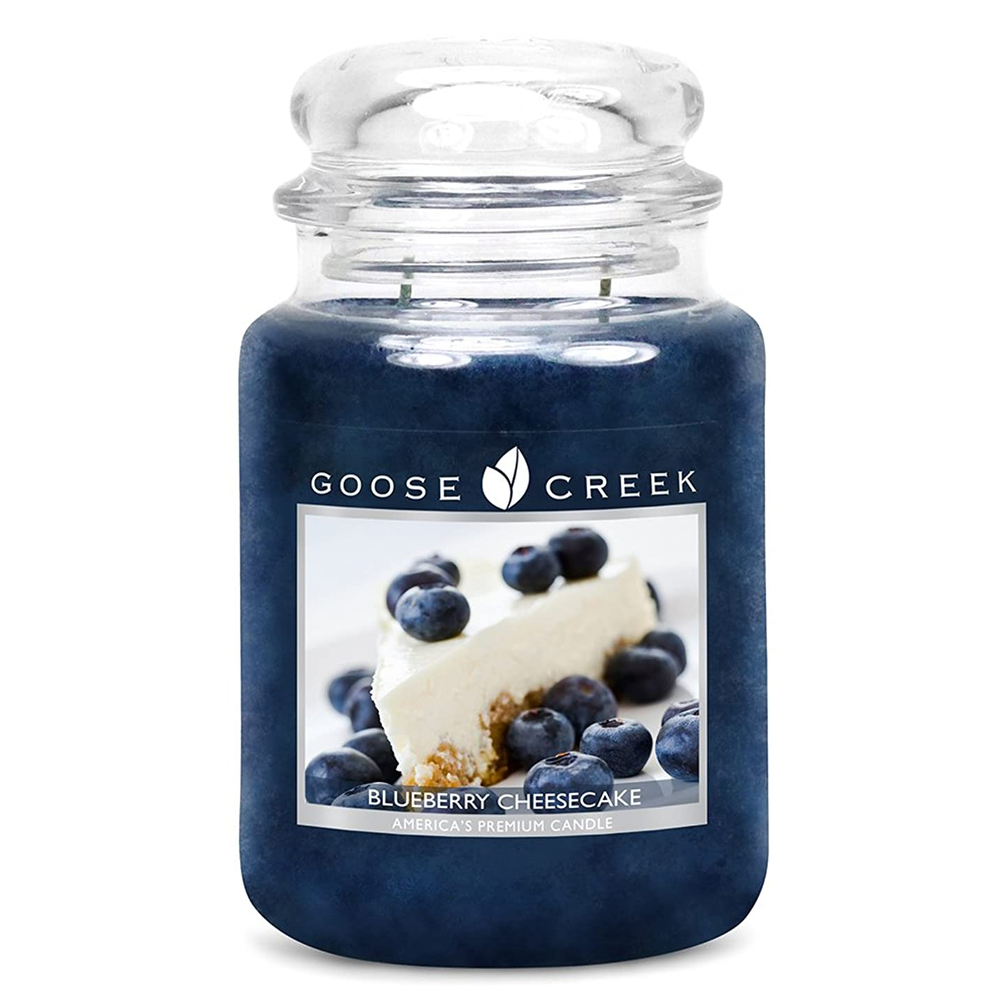Goose Creek Scented Candles Blueberry Cheesecake Large Jar Candle Great Fragrance 24 oz