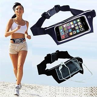 Pochete Fitness Para Corrida Porta Celular Chave Impermeável