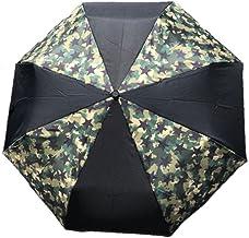 アウトドア フェス 折り畳み傘 迷彩 星 カモフラ スター 男性 メンズ UVカット 日傘 軽量 55cm