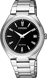 Citizen Women's Solar Powered Wrist watch, stainless steel Bracelet analog Display and Stainless Steel Strap, FE6020-56F