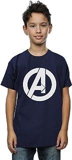 Marvel niños Avengers Simple Logo Camiseta