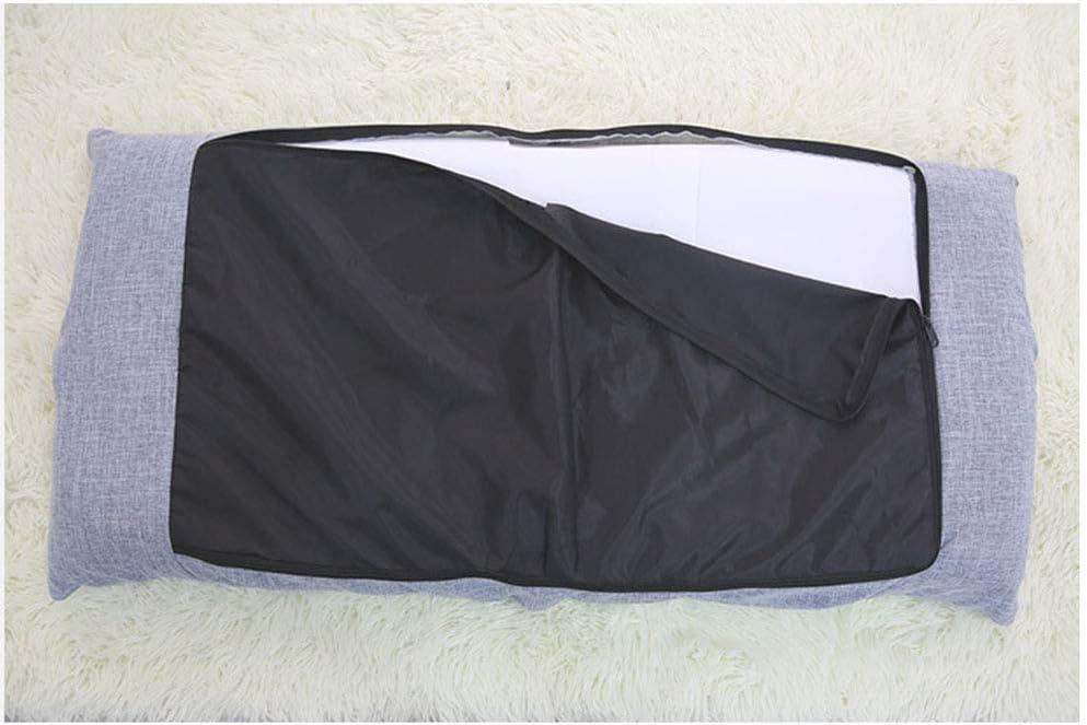 KJGLXD Tatami Paresseux canapé Simple Loisir Pliant dortoir Ordinateur Chambre Balcon Flottant Chaise de fenêtre 110 * 53 * 14cm f