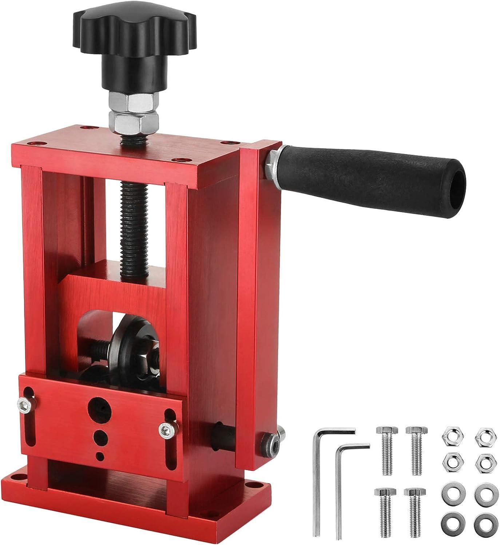 VEVOR Máquina Pelacables, Pelacables Reciclaje de Metal Dimensión, Herramienta de Pelado de Cables Manual (1.5mm-20mm)