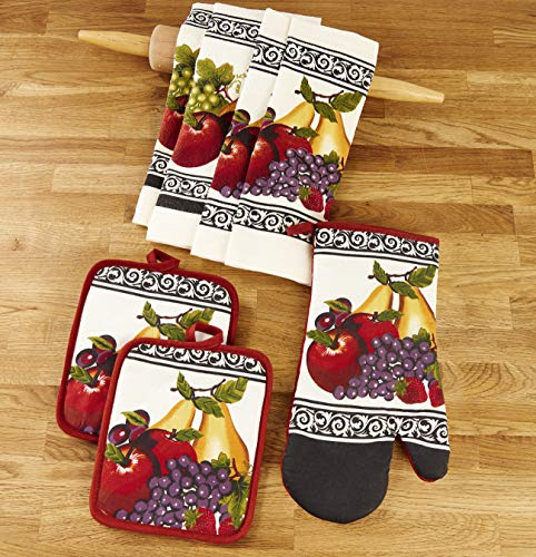 Top 10 Best Selling List for fruit kitchen towels