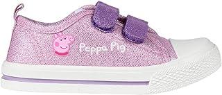 Cerdá Zapatilla de Peppa Pig para Niña con Cierre de Velcro de Color Rosa, Niñas