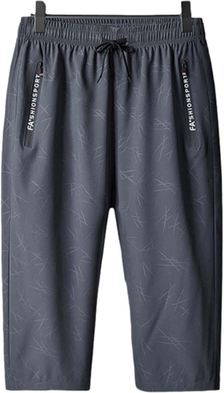 Segindy Men's Casual Shorts Summer Fashion Comfortable Sweat-Absorbent Breathable Large