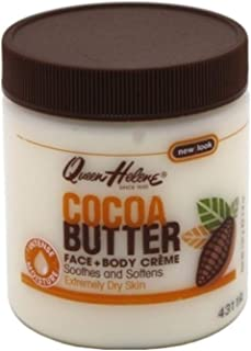QUEEN HELENE Cocoa Butter Creme 4.8 oz (Pack of 2)