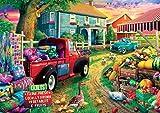 Buffalo Games - Quilt Farm - 300 Large Piece Jigsaw Puzzle