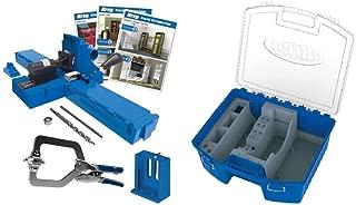 Kreg K5MS Jig K5 Master System w/ KTC55 System Organizer Storage Box for Jig Accessories