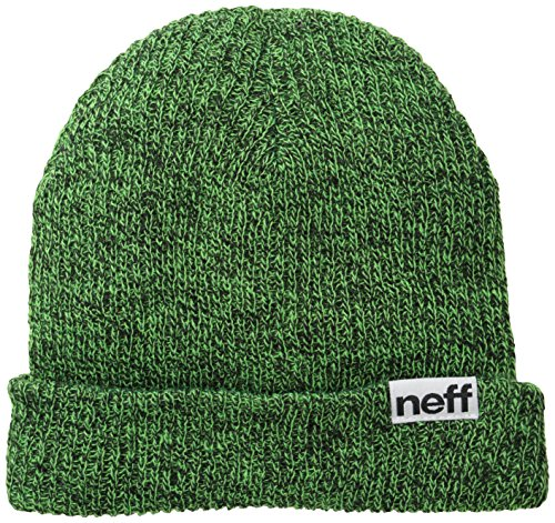 Neff Mütze Fold Heather, Black/Slime, One size