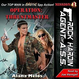 Operation: Thrustmaster audiobook cover art