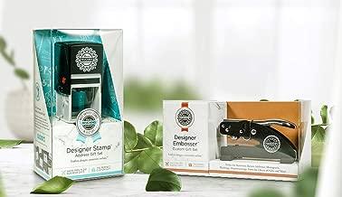 Three Designing Women CLCERT-EMB Personalized Custom Embosser Gift Box