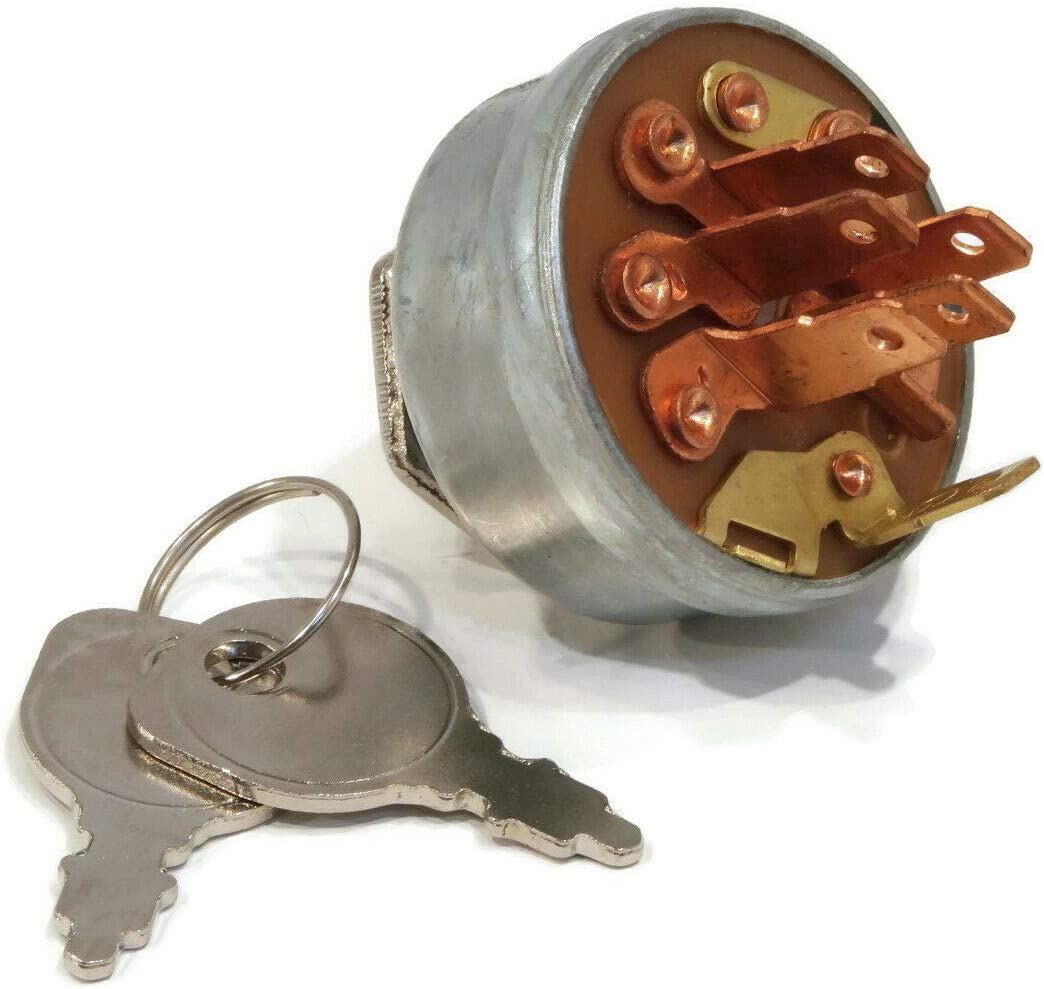Ignition Max 84% OFF Switch with Keys for Speed 1984 Time sale A2-11BP01 LT-1100 Lawn