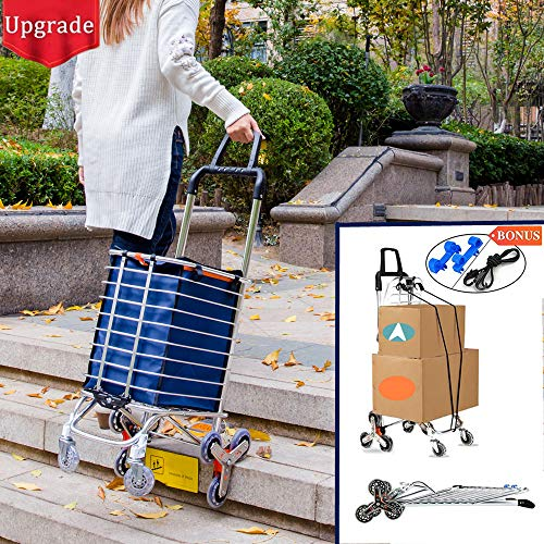 cheap Folding trolley Portable shopping trolley Light staircase trolley …