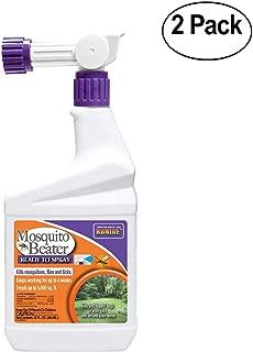 Bonide Pest Repellents (Bonide 680 RTS Mosquito Beater, 1Quart Pack of 2)