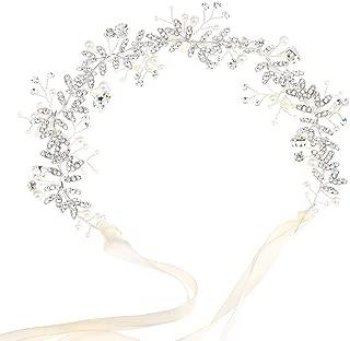 CATENA di capelli capelli gioielli sposa nozze Comunione testa gioielli arte PERLA HANDMADE 10