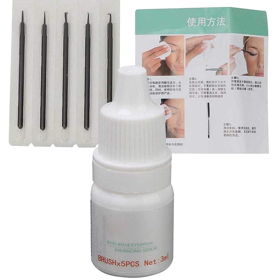 啓示ベアリングサークルそこまつげの成長の液体、より厚いより眉毛のためのより長くより広くよりまつげの増強物の養う血清