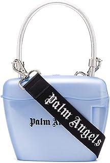 Luxury Fashion   Palm Angels Womens PWNA007S20PLA0014210 Light Blue Handbag   Spring Summer 20