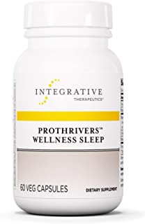 Integrative Therapeutics - ProThrivers  Wellness Sleep - Sleep Supplement with Melatonin, Magnesium, L-Theanine and Magnolia - 60 Capsules