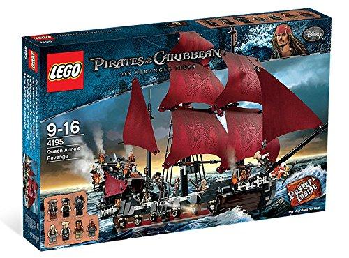LEGO Pirates des Caraïbes de la Revanche de la Reine Annes - 1097pcs.