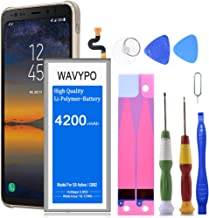 Wavypo Galaxy S8 Active Battery, 4200mAh Lithium Polymer Battery Replacement for Samsung Galaxy S8 Active EB-BG892ABE SM-G892, SM-G892A with Repair Toolkit [24 Month Warranty]