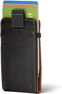 Distil Union Wally Micro - Premium Leather Minimalist Slim Wallet and Card Holder