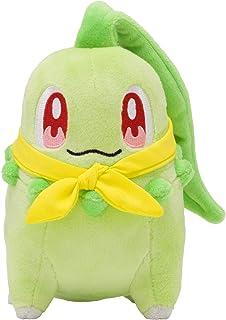 Pokemon Center Original Plush Doll Chikorita (Pokemon Mystery Dungeon: Rescue Team DX)