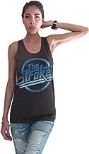 BUNNY BRAND Women's The Strokes Magna Logo Music T-Shirt Tank Top Vest Black